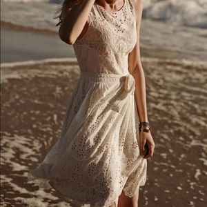 ANTHRO WHITE LACE DRESS By Lil